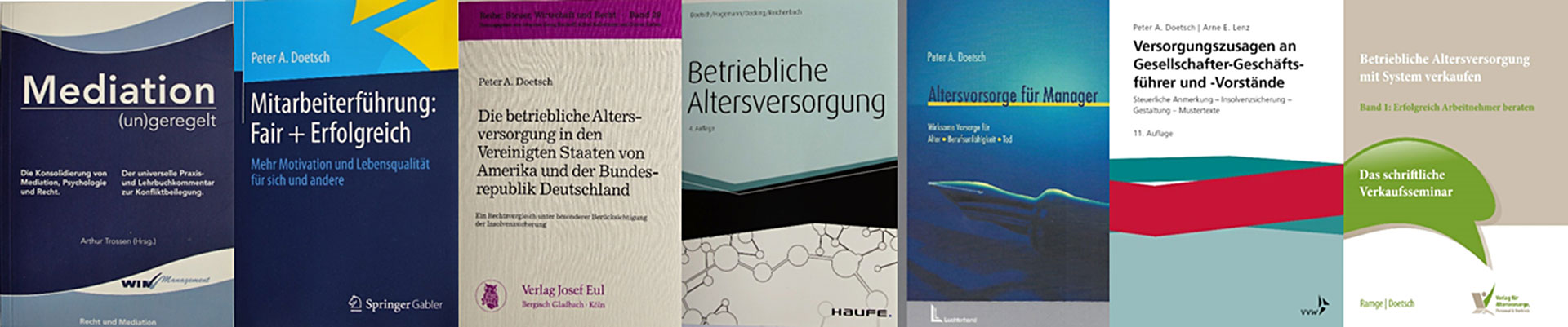 Neue Bücher von Dr. Doetsch