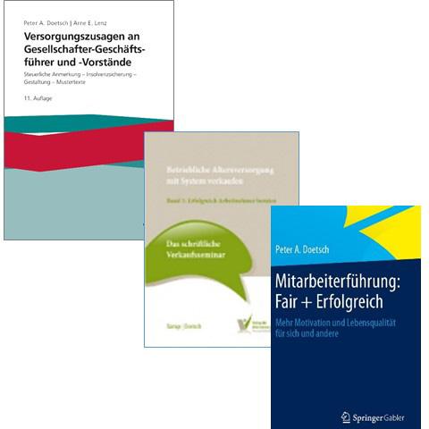 3 Bücher von Dr. Doetsch